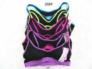 South American bra new spot sports version of the color package bra bra sports yoga shock