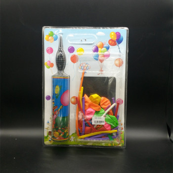 Toy balloon balloon balloon set