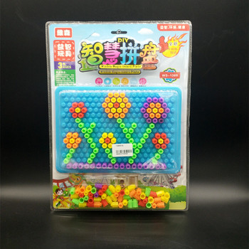 The new educational model of children's toys plastic toys combination of assorted cold dishes
