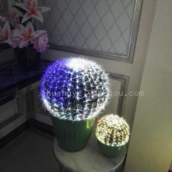 LED colorful lamp lamp decorations for optical fiber simulation artificial flowers bonsai plants DX1