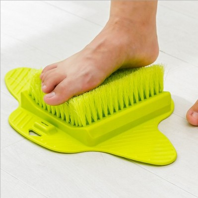Bathroom grinding foot brush brush can be hung with a suction cup 2016TV