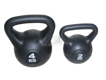 The sand casting ball explosive Kettlebell sports training fitness equipment to the pot dumbbell lady thin arm men