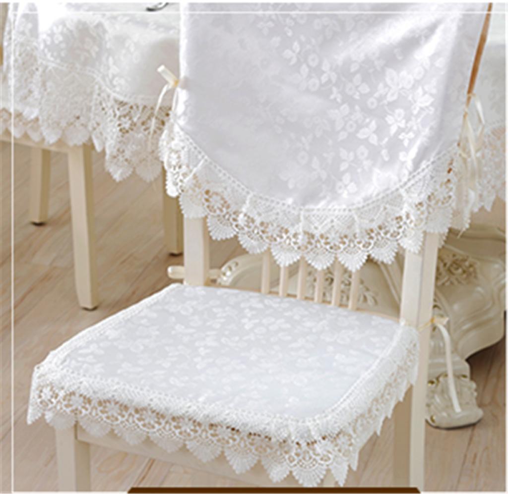 中式刺绣花边餐桌布台布蕾丝茶几布