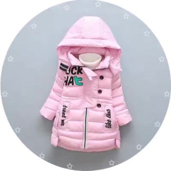 Winter girl fashion coat