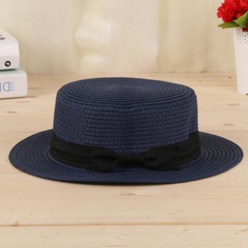 承雯女士草帽海边防晒太阳帽户外度假遮阳帽沙滩帽夏天