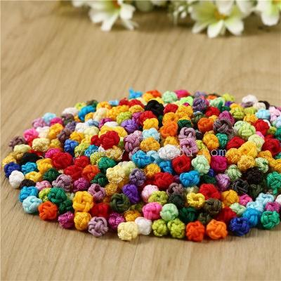 Solid color pineapple button knot jewelry crafts accessories boutique.