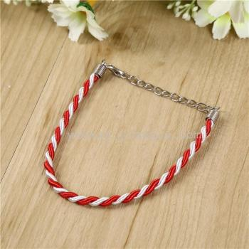 Red White Bracelet raw material DIY handmade jewelry accessories manufacturers wholesale