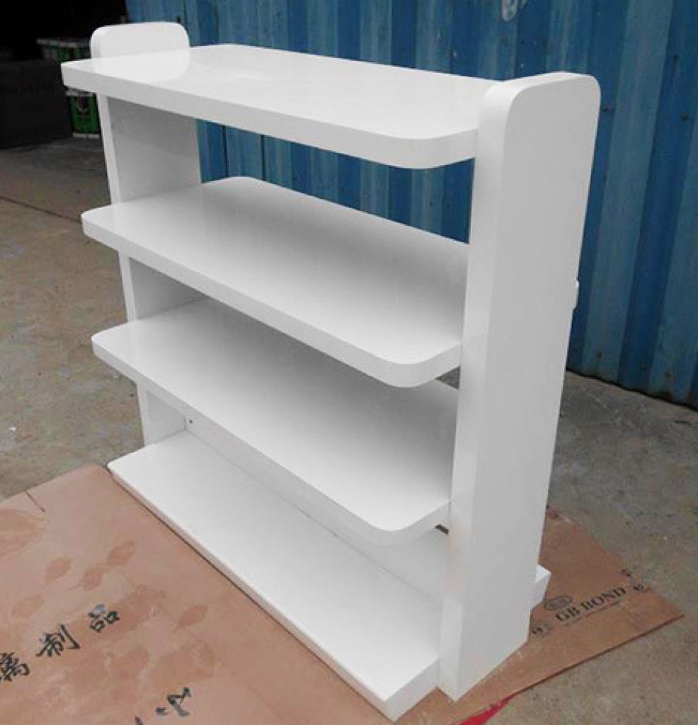 白色烤漆中岛柜