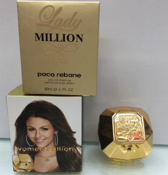 女士百万香水,WOMAN  MILLION 100ML