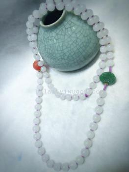 [and] natural jade jewelry beads collocation South Red Jasper sweater chain
