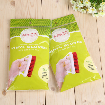 Disposable PVC gloves health food and beverage anti oil beauty salons household gloves wholesale