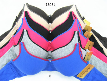 South America package bra The new brushed cotton spot bra no steel underwear
