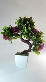 Simulation of plant yingkesong pot flowers plant pine handicraft green plants