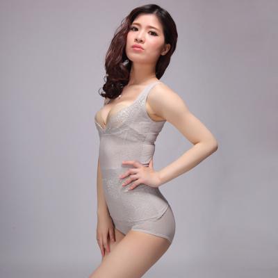 Rhine brand thin gauze abdomen corset V collar underwear