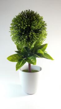 Mini green potted bonsai plants simulation simulation artificial plastic material