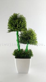 The potted plants fresh decoration crafts bionic plant