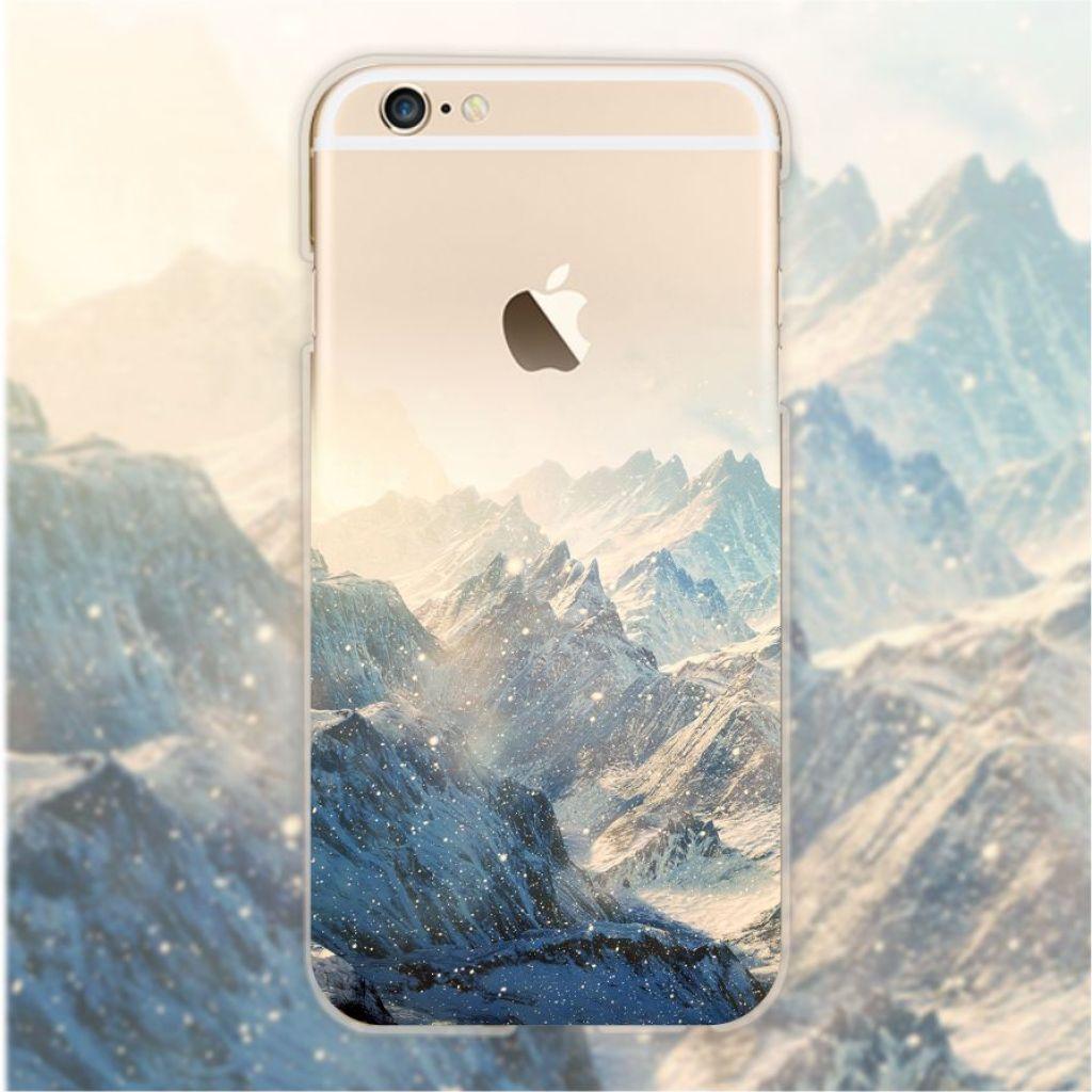 新品 苹果6s手机壳iphone7/plus唯美风景
