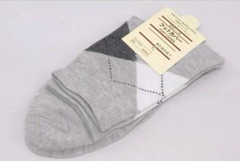 Taobao Tmall supply small gifts men socks socks wholesale fashion Argyle Socks Business English