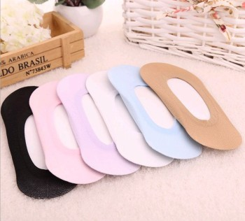 South Korea's new candy colored boat socks, ladies foreign trade slip invisible light socks