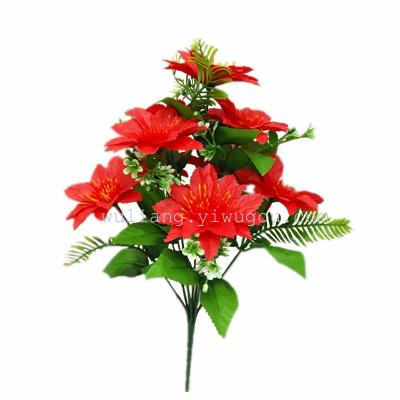 Supply direct selling high quality silk flowers rose 9 small phoenix direct selling high quality silk flowers rose 9 small phoenix head simulation chrysanthemum qingming worship mightylinksfo