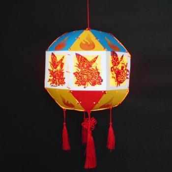 新diy创意手工制作灯笼材料包中秋节亲子儿童作业灯谜暖场活动