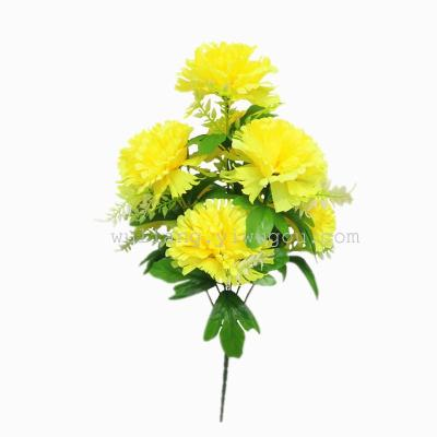 Artificial flowers Tomb-sweeping Day worship activities Yongsheng decorative arts rose plant simulation 7 xindingxiang