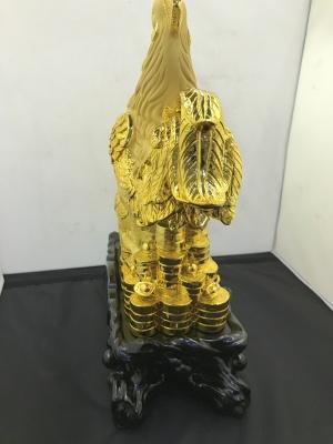 Golden plated decoration crafts