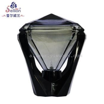 正品Sellion JADE黑色钻石男士香水法国男香礼盒包装