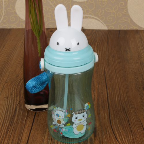 Children Straw cup leakproof durable plastic cup with cup kettle in summer