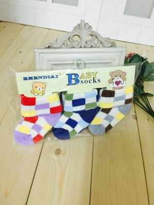 Children socks baby socks cartoon mixed colors