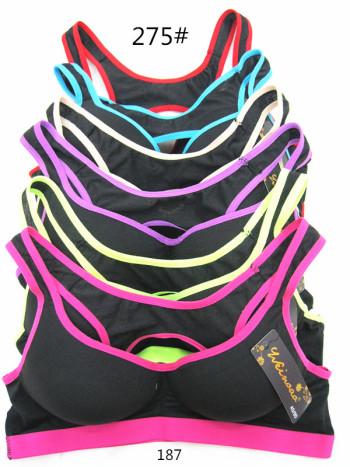 The new beauty back sports bras back lace bra shockproof bra vest