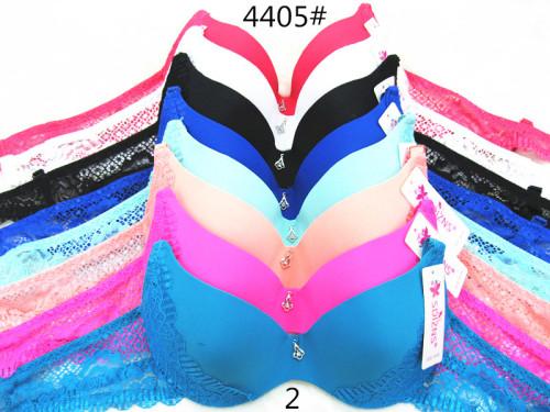New spot light lace edge cloth bra personality simple lace side bra underwear