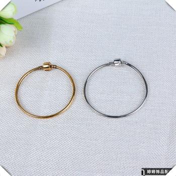Handmade diy jewelry accessories copper bracelet safety chain