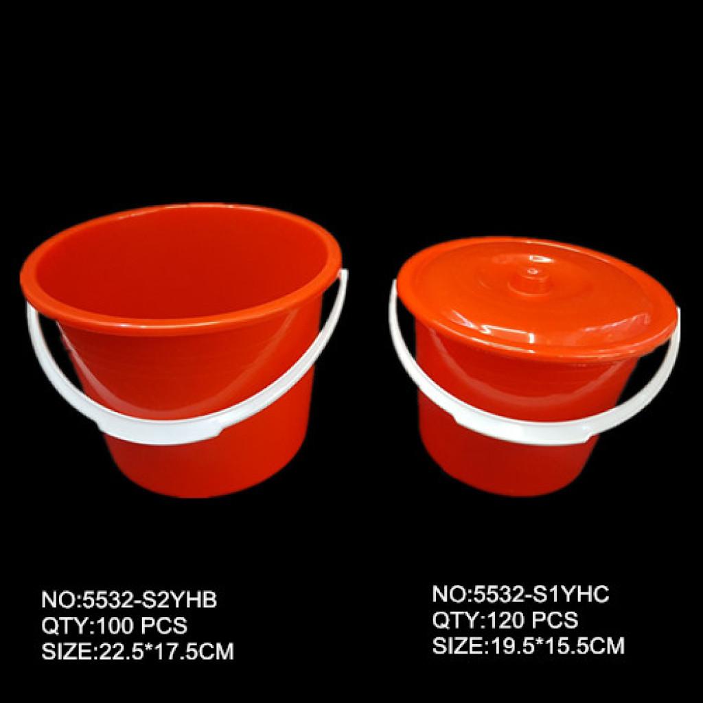 塑料水桶 带盖小水桶 水桶大小号