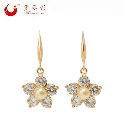 Japan and South Korea, the high-end jewelry fashion earring Earrings hypoallergenic lady wholesale custom
