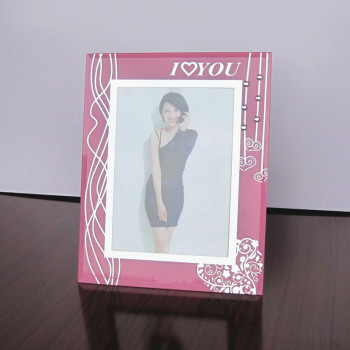 Foreign trade export valentine's day creative love crystal glass frame studio gifts factory customization