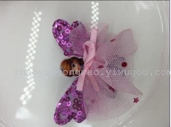 韩版花仙子芭比娃娃苏菲亚公主发饰头饰发夹发圈158(117)