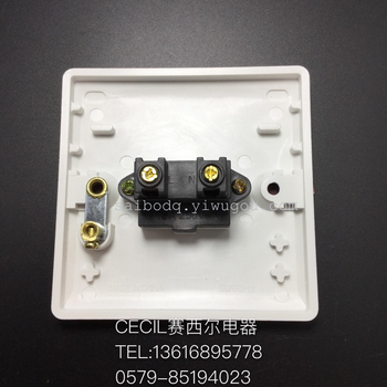 开关obk系列 两孔 控制开关 墙壁插座 赛西尔