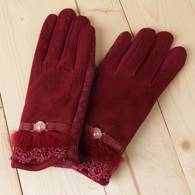 Winter anti - slip touch screen protective gloves and gloves for gloves.