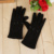 Autumn and winter fashion ladies with cotton knit gloves all hands touch screen gloves.