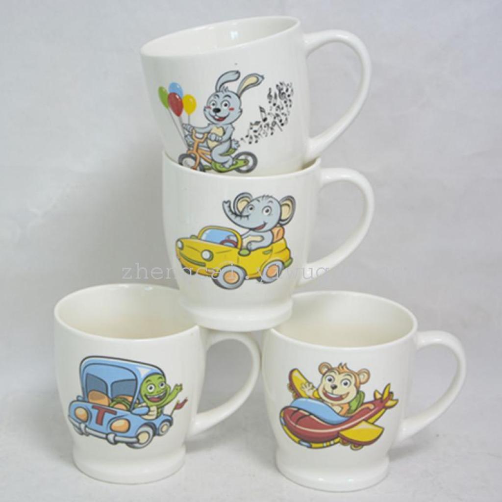 卡通图案 陶瓷 咖啡杯 水杯 礼品杯