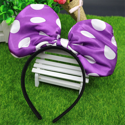 No light cloth Bow Headband manufacturers trumpet concert holiday decorations wholesale