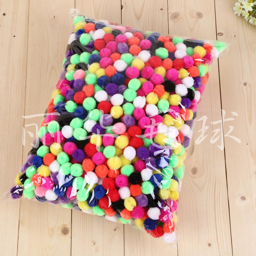 厂家直销 可定制 可爱毛绒小球 服装饰品辅料