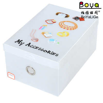 Manufacturer supply creative printing transparent can be customized to add PP with LOGO plastic box cover