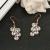 High-grade long earrings earrings ear zircon hypoallergenic Earrings trade personality