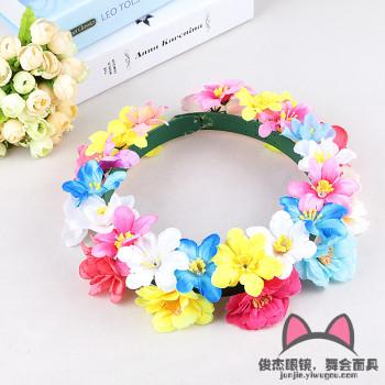 Rosette new Korean style headdress wedding beach shenzhen hair ornaments accessories head flowers