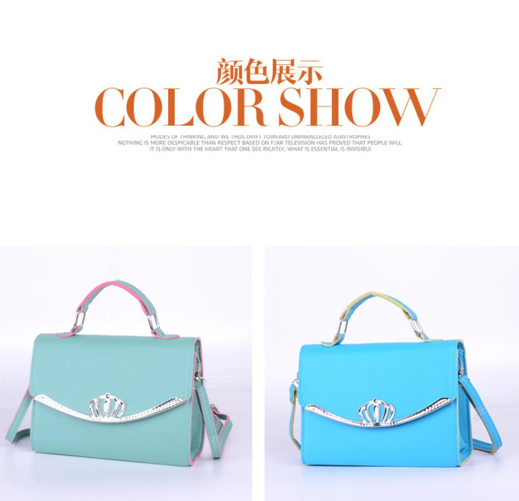 3a3e2bb945 2016 new spring leisure small package crown small bag trend popular fashion handbag  shoulder hand cross