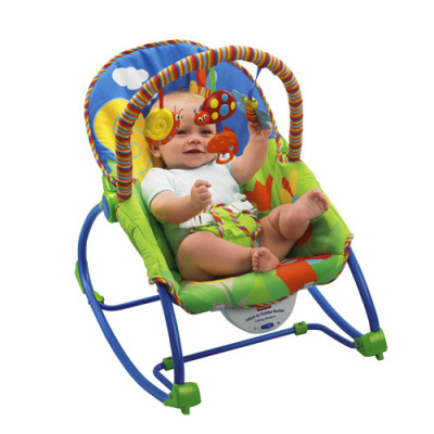 Baby baby rocking chair rocking motion music to appease the multifunctional baby chair to treasure artifact