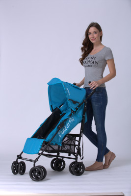 The world mother baby carriage umbrella car super lightweight trolley can be folded flat in Europe baby sit