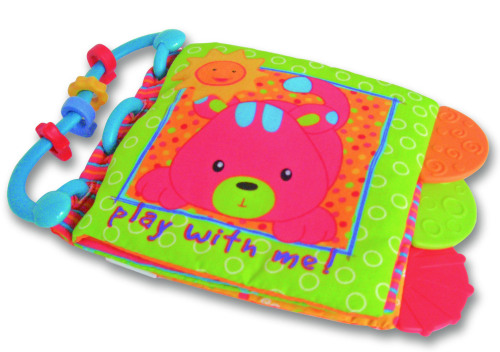 Foreign trade orders Carter cloth book baby teeth ring with BB paper tape book early puzzle baby
